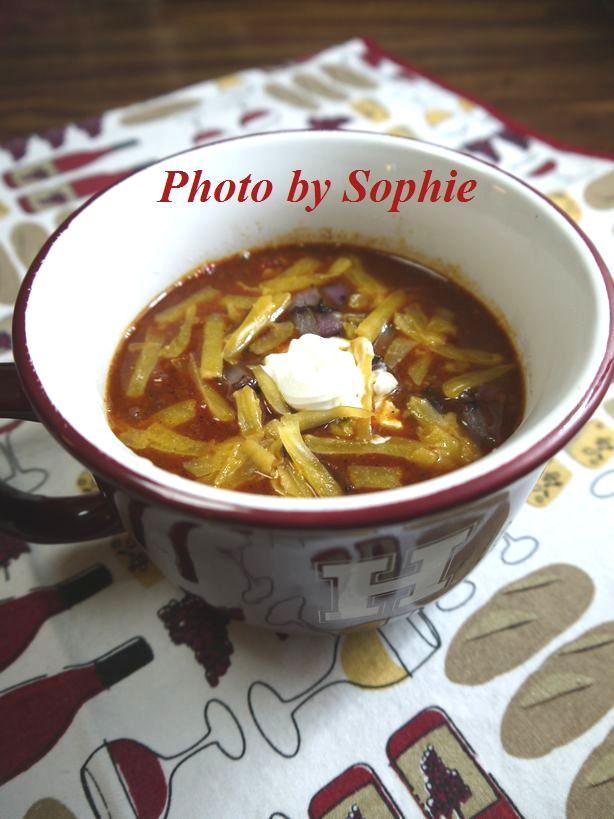 牛肉と白い豆のチリコンカン