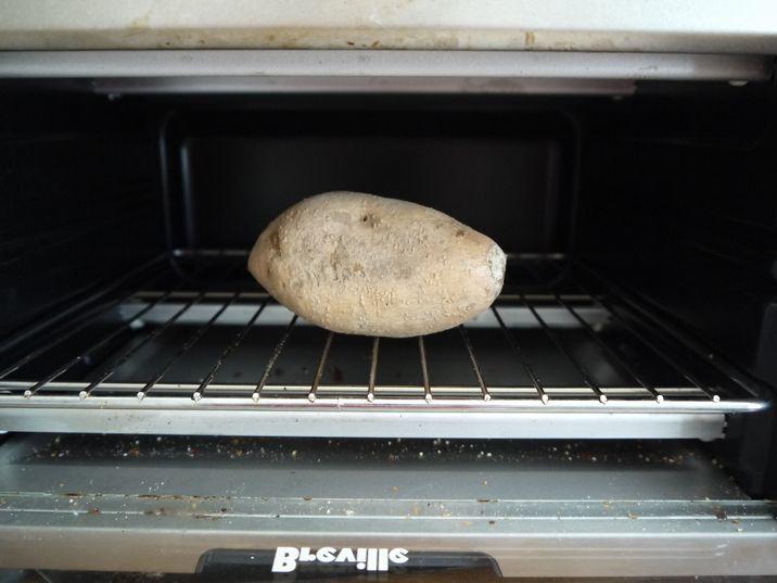焼き芋の温め直し