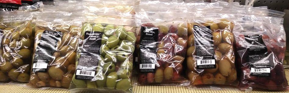 オリーブの種類