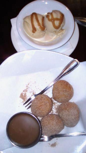 Seasonal ice cream- house made & donuts
