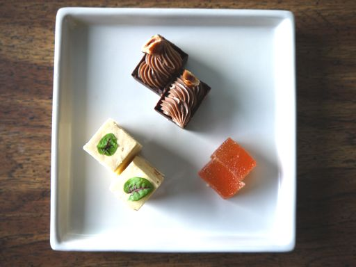final desserts plate