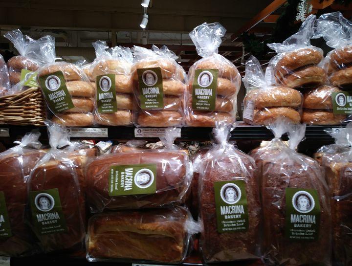 アメリカのパンの種類
