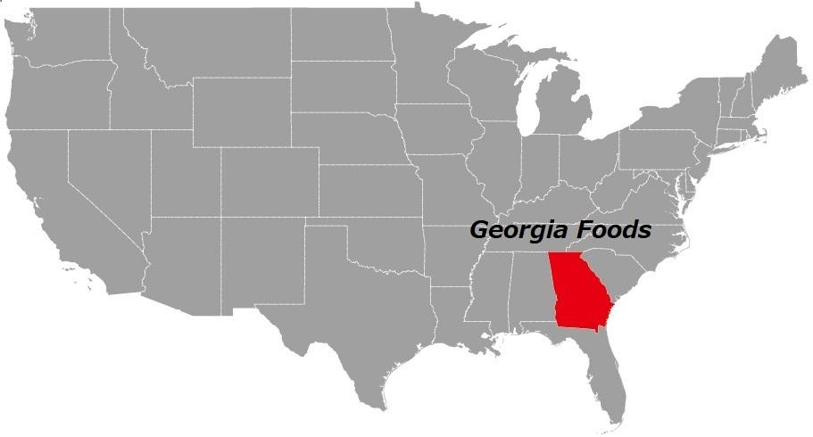 ジョージア州の食べ物