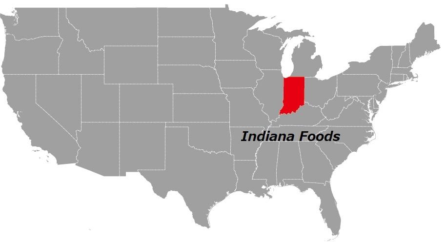 インディアナ州の食べ物