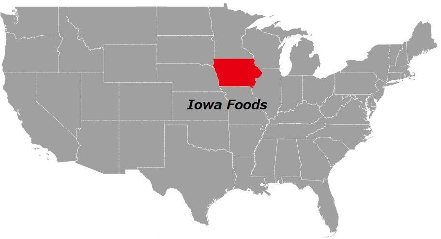 アイオワ州の食べ物