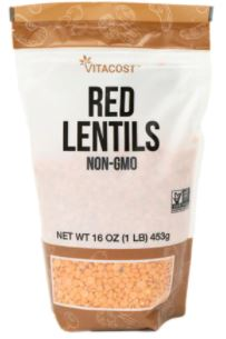 赤レンズ豆