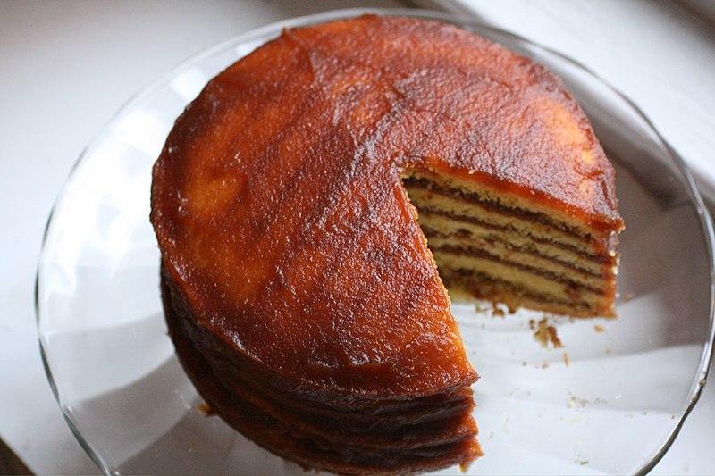 アップルスタックケーキ