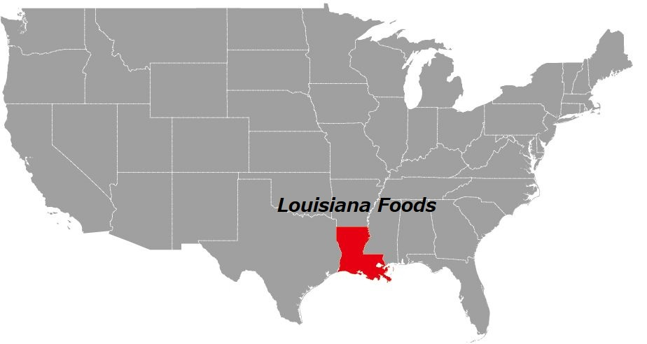 ルイジアナの料理