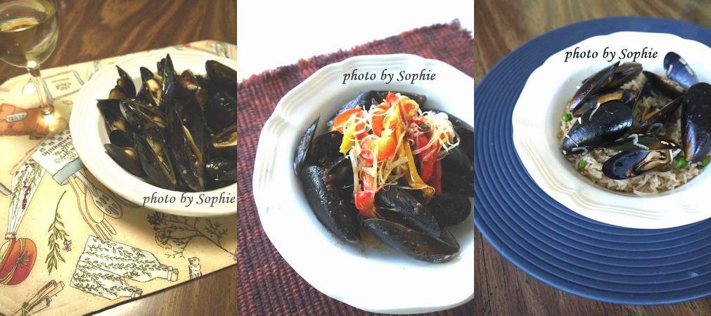 ムール貝の料理