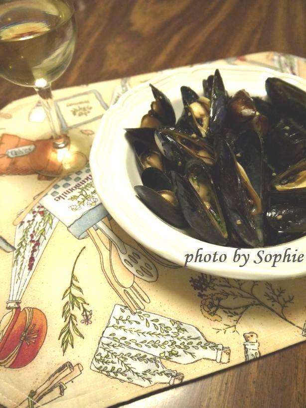 ムール貝のオーブン蒸し煮