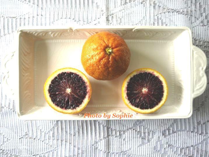 ブラッドオレンジ・カット