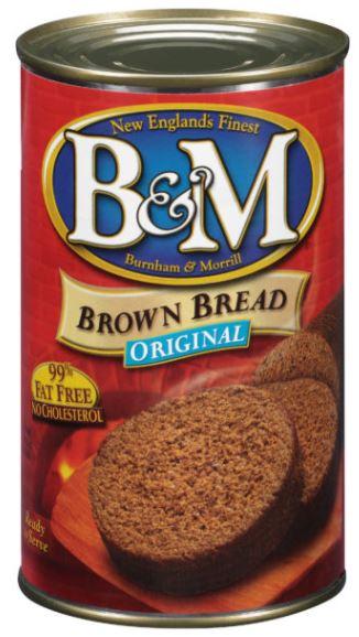 缶入りブラウンブレッド
