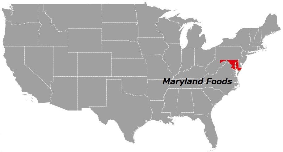 メリーランド州の食べ物