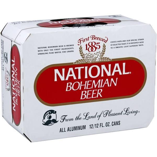 ナショナル・ボヘミアンビール