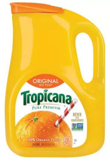 パルプなしオレンジジュース