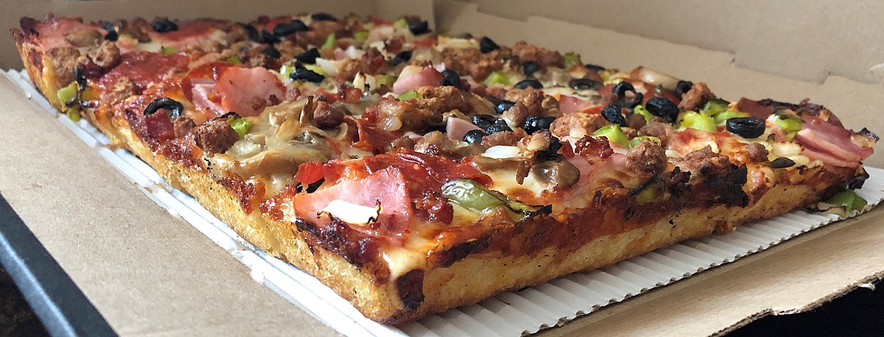 デトロイトスタイルピザ