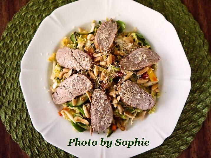 タイのポークサラダ