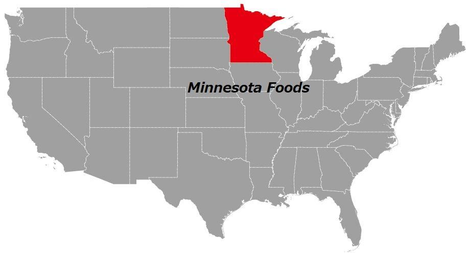 ミネソタ州の食べ物