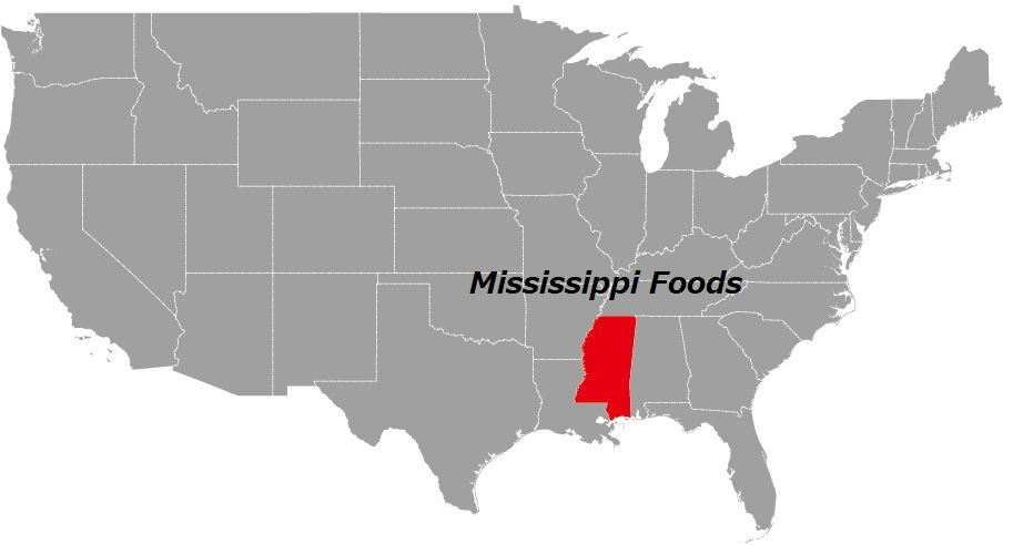 ミシシッピ州の食べ物